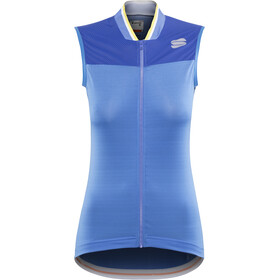 Sportful Grace Sleeveless Jersey Damen parrot blue/blue cosmic